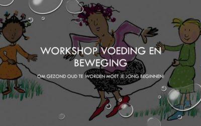 2018 Workshop Voeding en Bewegen